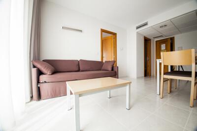 Foto di una camera da Hotel y Aparthotel Acuazul