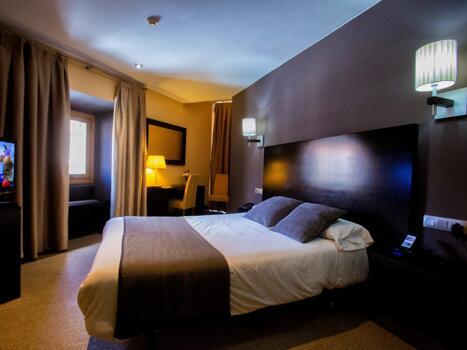 Foto de una habitación de Hotel Monasterio Benedictino