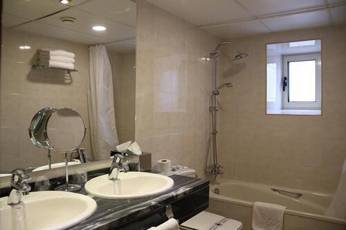 Badezimmer - Hotel Eth Solan