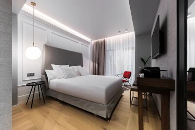 Foto de una habitación de Hotel Riazor