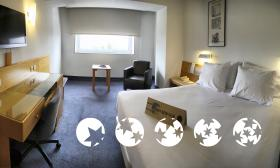 "Room – ""Hotel Tres Reyes"""