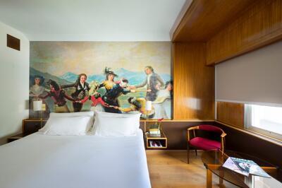 Foto de una habitación de Hotel Goya