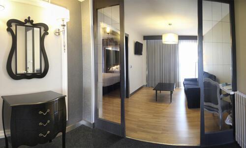 Foto de una habitación de Hotel Chiqui