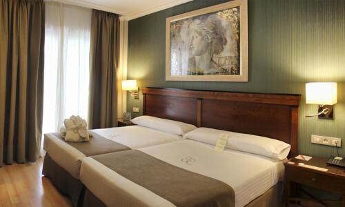 Foto de una habitación de Hotel Becquer