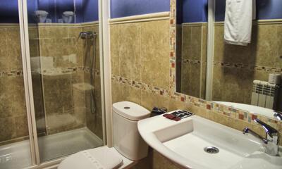Foto del baño de Hotel Las Murallas