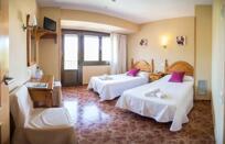 """Foto de una habitación del """"Hotel Sánchez"""""""