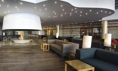Foto de las zonas nobles de Hotel Continental Balneario de Panticosa