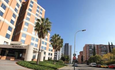 Außenansicht - Hotel Alimara