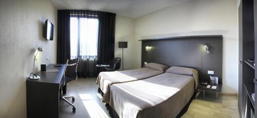 Foto de una habitación de Hotel Alimara