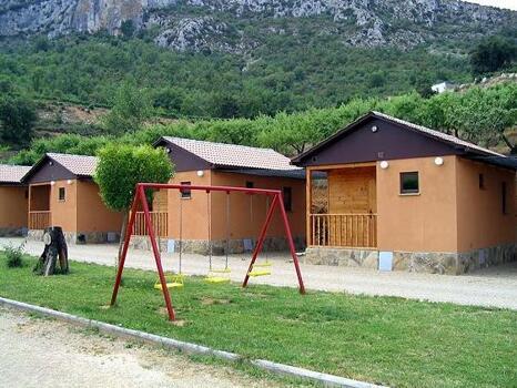 Foto di una camera da Bungalows Camping Bellavista
