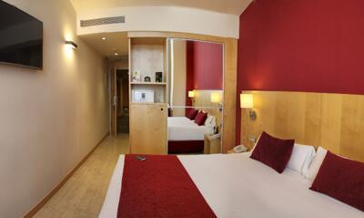 Foto de una habitación de Hotel Sercotel Portales