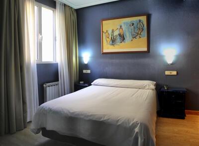 Foto de una habitación de Hotel Madrid Río