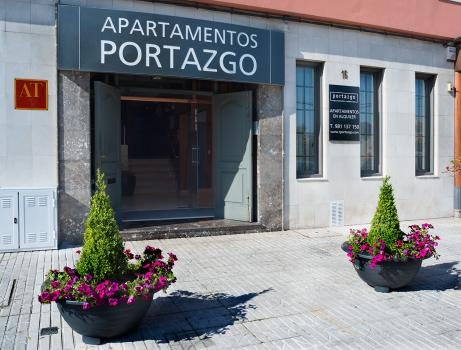 Foto del exterior de Apartamentos Attica21 Portazgo