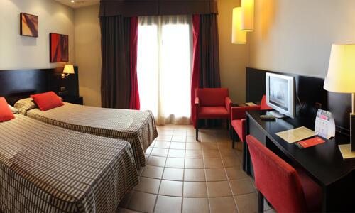 Foto de una habitación de Hotel Cigarral Del Alba