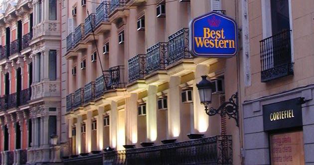Hotel best western carlos v madrid Best hotels in central madrid