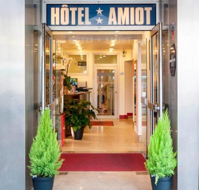 Foto do exterior - Hotel Amiot