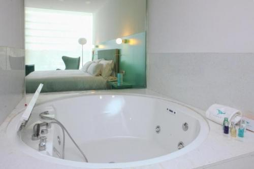 Foto del baño de Hotel Hiberus