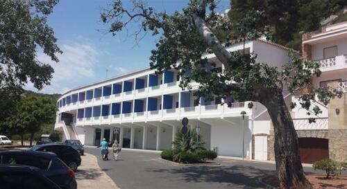Außenansicht - Hotel Paradis Blau