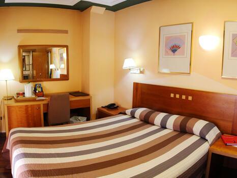 Foto de una habitación de Hotel Paris Centro