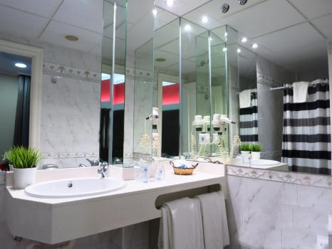 Badezimmer - Hotel Boutique Catedral