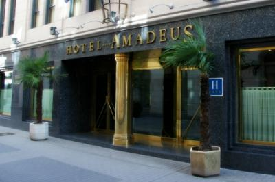 Extérieur de l'hôtel - Hotel Amadeus
