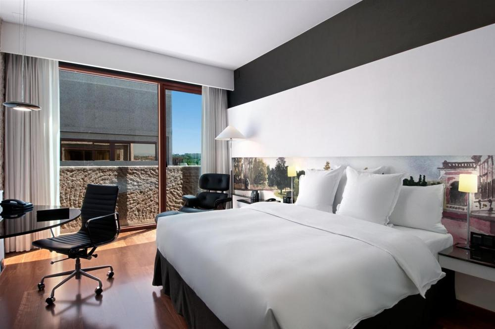 Hotel hilton madrid airport barajas for Hotel habitacion cuadruple madrid