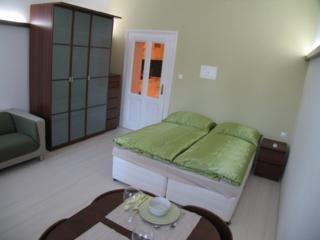 Foto de una habitación de Rajska Apartments
