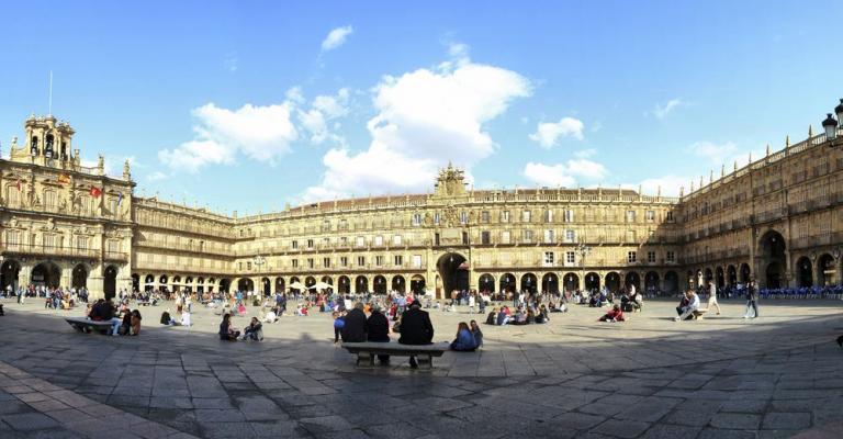 Foto Salamanca: Plaza Mayor Salamanca