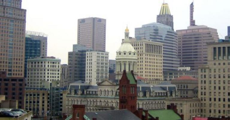 Foto von Maryland: Baltimore Downtown