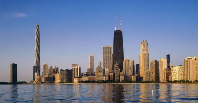 Foto von Illinois: Chicago Spire