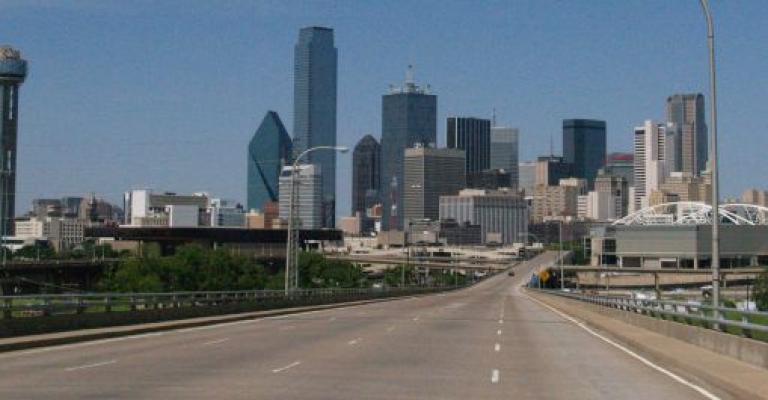 Foto von Texas: Dallas Skyline
