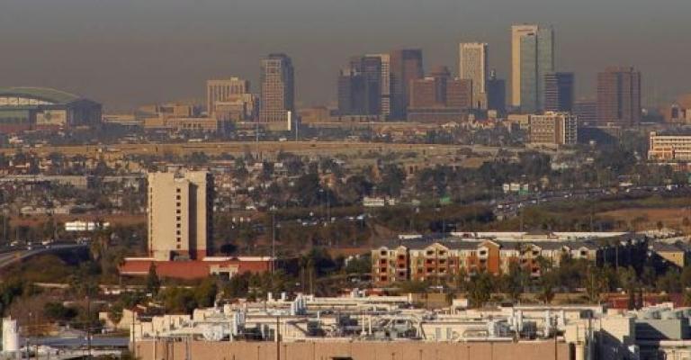 Foto von Arizona: Phoenix skyline