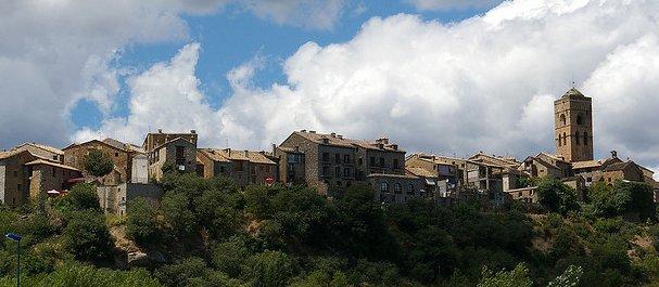 Fotografía de : Casco antiguo de Ainsa