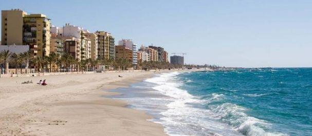 Fotografía de Almería: Vista playa y ciudad