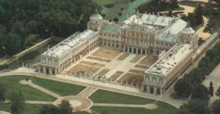 Fotografía de Aranjuez: Aranjuez desde el aire