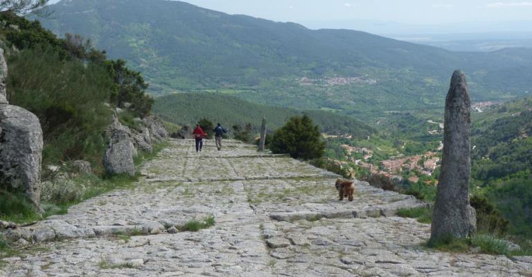 Fotografía de Cuevas del Valle: Calzada romana del pico
