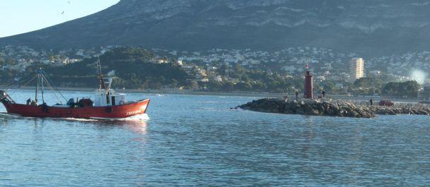 Fotografía de Comunidad Valenciana: Vista del puerto de Denia