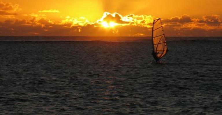 Photo : Windsurfing en El Medano