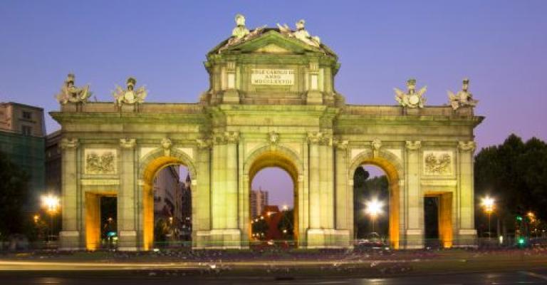 Foto Madrid: Puerta de Alcalá