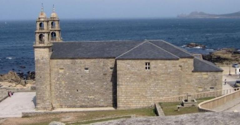 Foto : El Santuario da Virxe da Barca