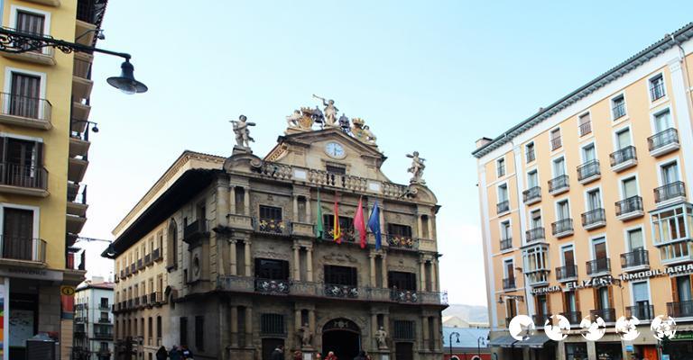 Foto von Pamplona: Ayuntamiento