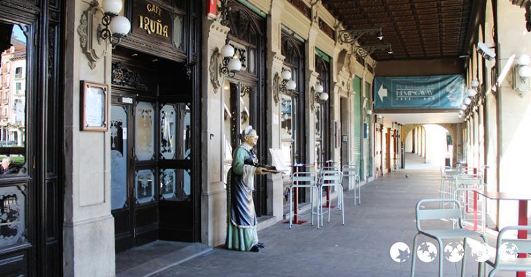 Foto von Pamplona: Café Iruña