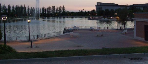 Fotografía de Pinto: Lago artificial parque Juan Carlos I