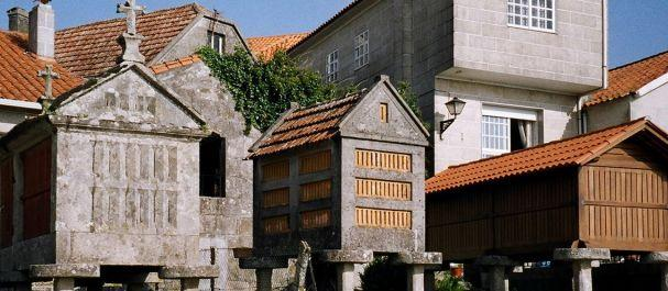 Fotografía de Pontevedra: Hórreos en Galicia