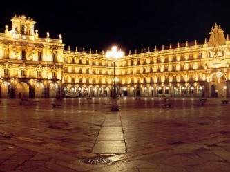 La Plaza Mayor de Salamanca