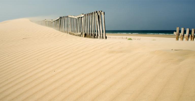 Fotografía de San Fernando: Dunas de la playa de Camposoto
