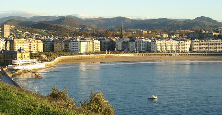 Photo : Playa de San Sebastian