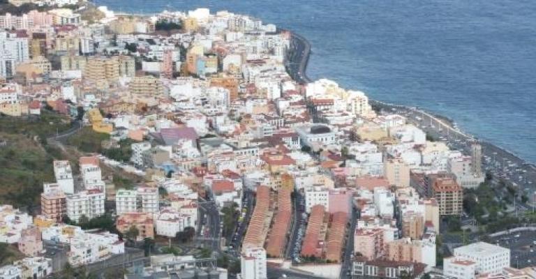 Picture : Vista sobre Santa Cruz de la Palma