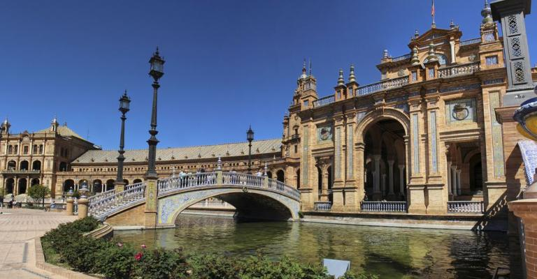 Picture Spain: Plaza España Sevilla