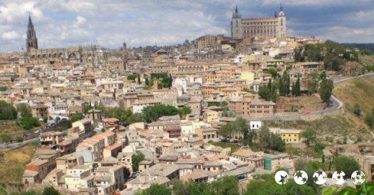 Fotografía de Castilla-La Mancha: Toledo vista desde el Cigarral